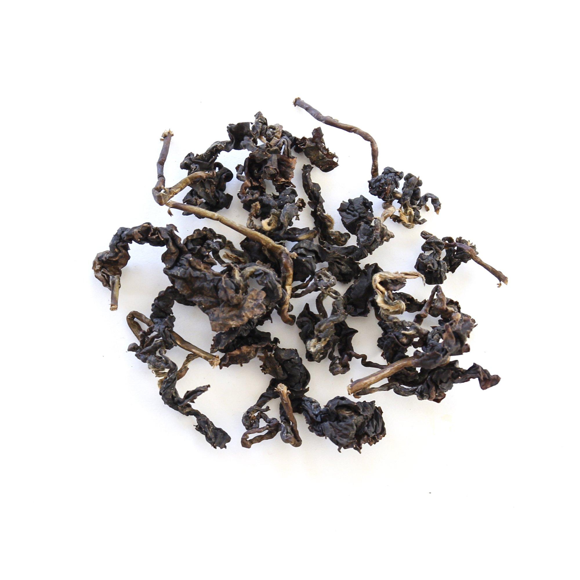 Natural Taiwan High Mountain Sapphire GABA Loose Leaf Oolong Tea, 50g/1.76 oz by TEAMALCHI (Image #4)