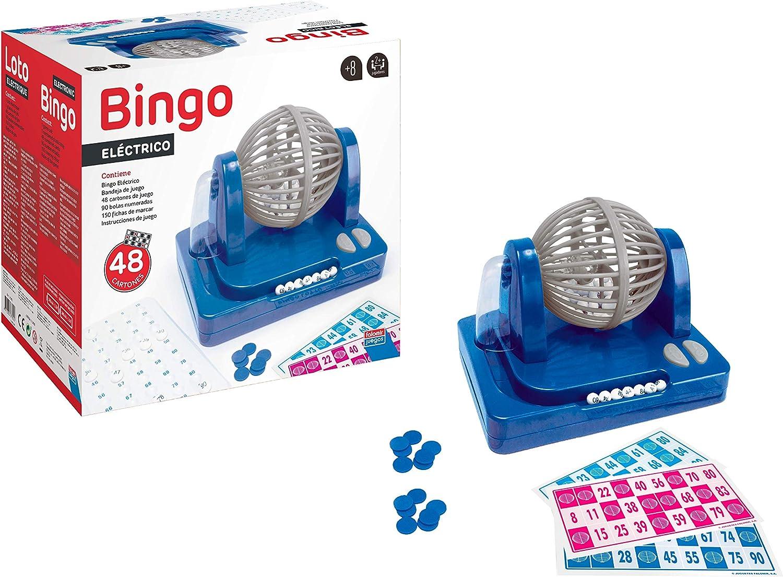 Falomir Bingo Eléctrico, Juego de Mesa, Clásicos, 27 x 24 x 17 cm (27922): Amazon.es: Juguetes y juegos