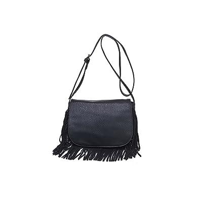 67ff83e3d1 Moda Luxe Women s Stylish Fringe Pasadena Crossbody Bag