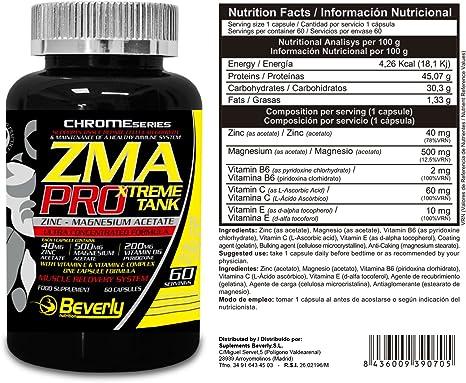 Beverly Nutrition Exclusive para ABSat40 ZMA Pro - promueve ...