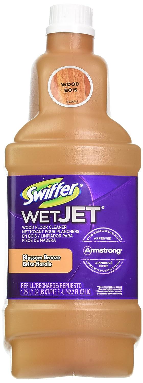 Swiffer wetjet wood floor cleaner - Amazon Com Procter Gamble 23682 Swiffer Wetjet Wood Floor Cleaner 1 25l Health Personal Care