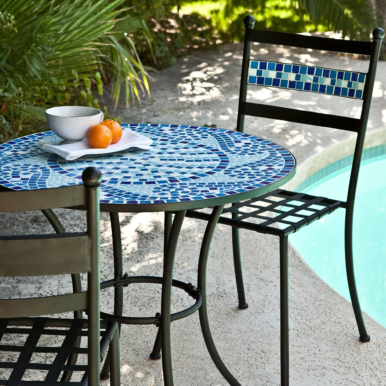 Elegant High top Patio Table and Chairs