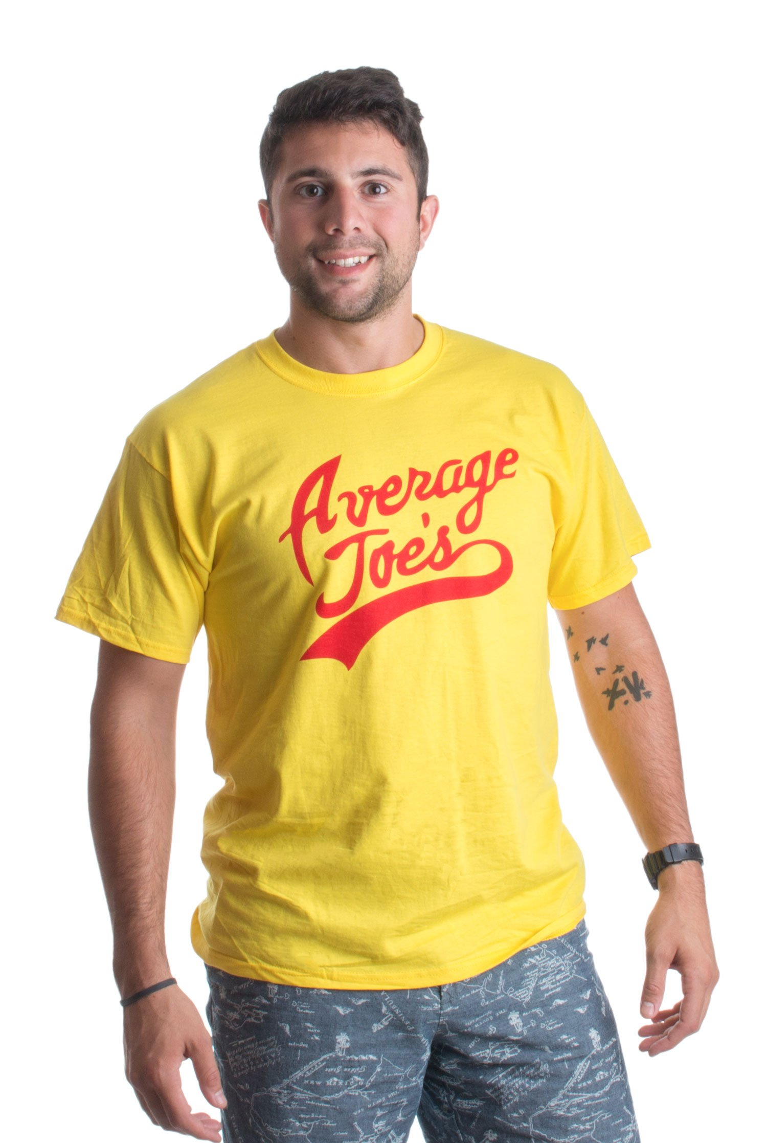 Average JOES Unisex T-Shirt/Funny Dodgeball Team Jersey Joe's T-Shirts