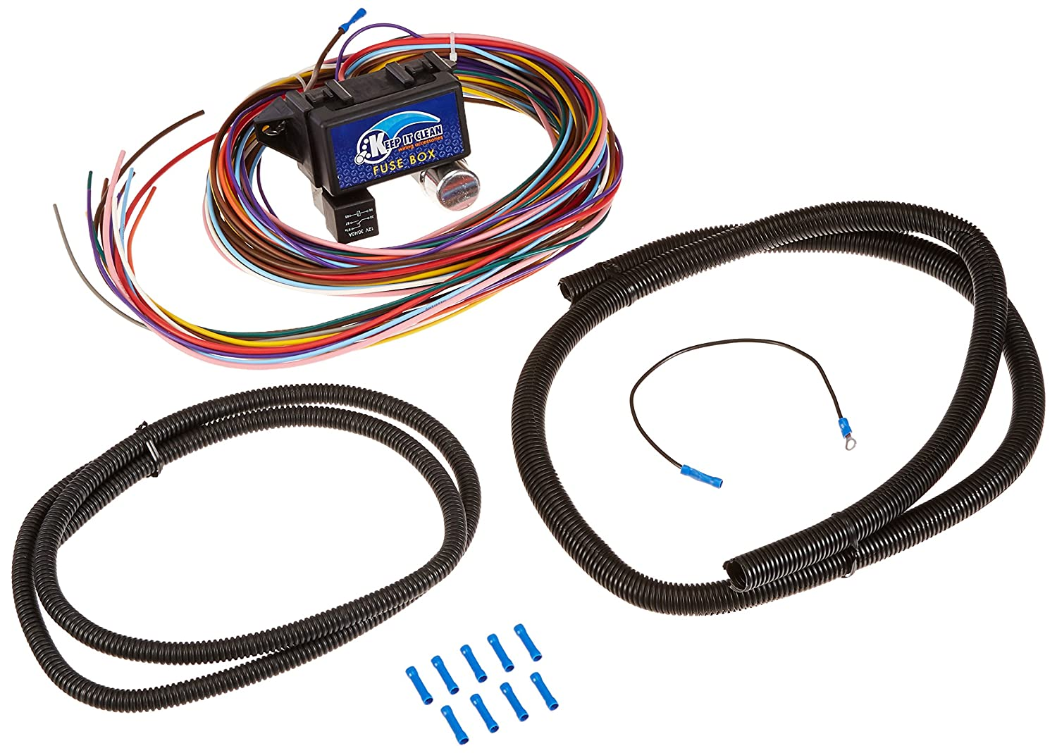 Amazon.com: Keep It Clean 10535 Fuse Wire Harness System 12 Fuse Wire  Harness System: Automotive