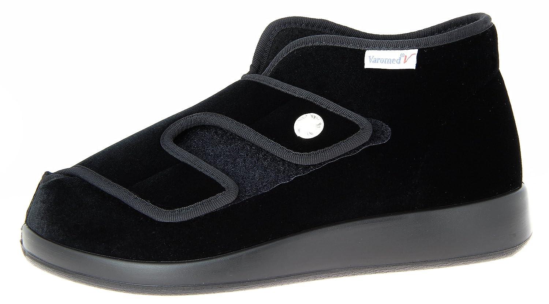 Varomed - Genua, Pantofole Unisex - AdultoSchwarz (schwarzes)