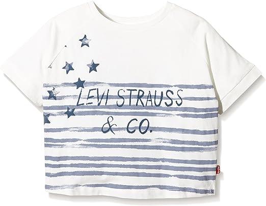 Levis SS tee Aspen Camiseta, Blanco, 10 años para Niños: Amazon.es: Ropa y accesorios