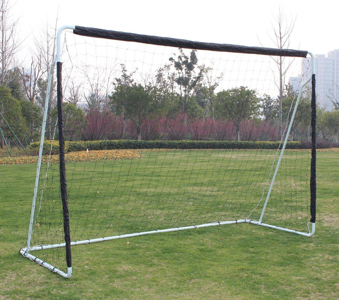 Sports God ポータブル 10フィート x 6.7フィート スチールサッカーゴール ネット付き   B07DWPDQ6H