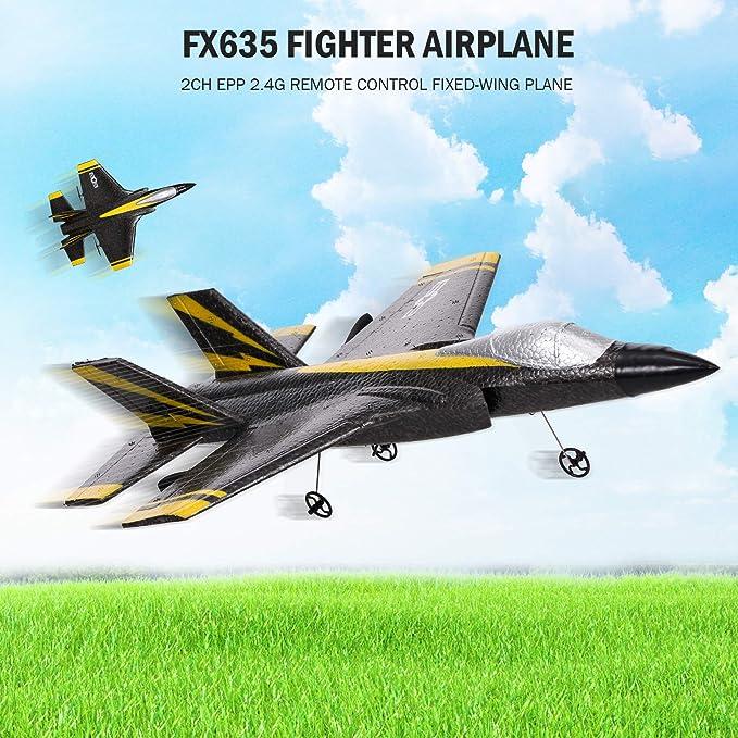 Demeras RC-Flugzeugfernbedienungsgleiter 2,4 GHz 3-Kanal Micro RC-Flugzeugfernbedienung Festfl/ügel f/ür CESSNA-182 Toy