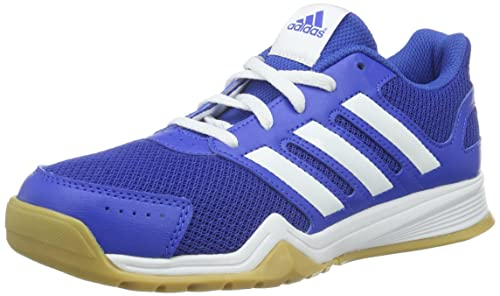 5f9e00b8852 adidas Unisex Kids' Interplay K Multisport Indoor Shoes, Blue (Blau/Weiß/