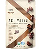 Living Intentions Activated Superfood Nut Blends, Gluten Free, Vegan, Organic, Paleo, Dark Cacao, 4 Ounce