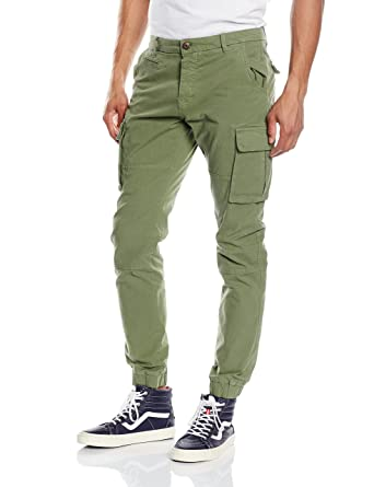 ONLY & SONS Herren Hose Onstang Cargo Cuff Sea Spray 3464, Grün (Sea Spray