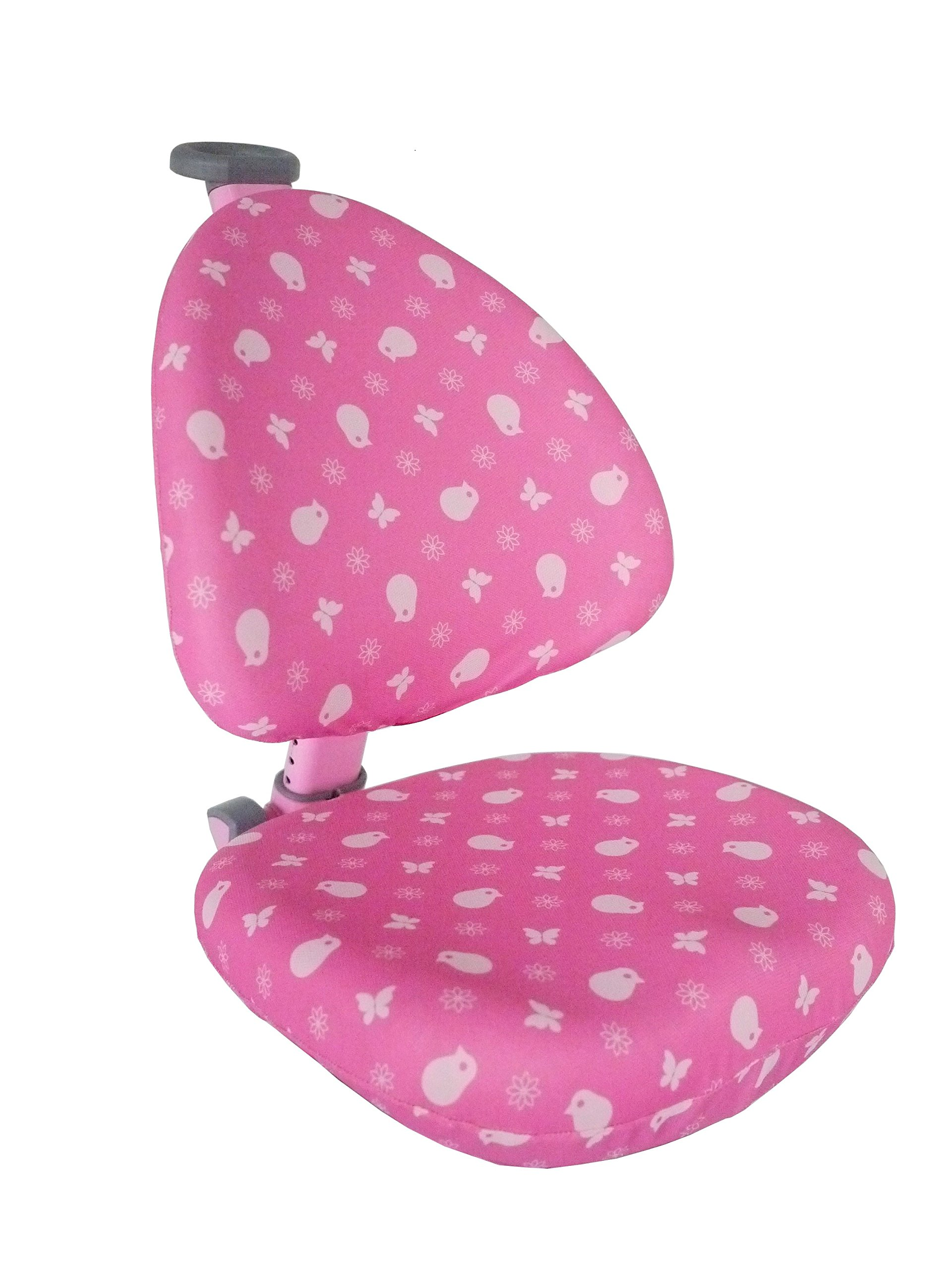 TCT Nanotec Kid 2 Youth Kid's Ergonomic Swivel Desk Chair Cover, Pink