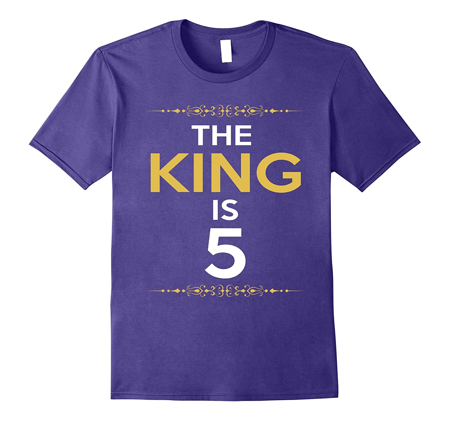 Kings is 5 Years Old -5th Birthday Gift Ideas for him/boy-CL
