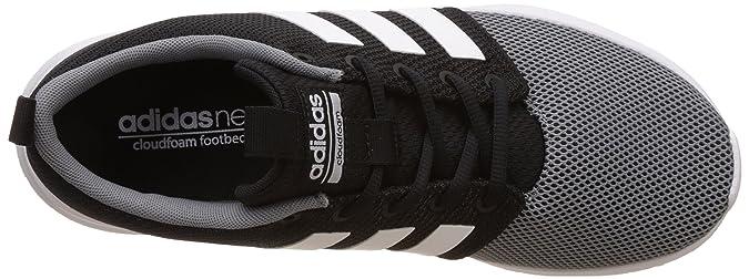 Buy Adidas neo Men's Cloudfoam Swift Racer Cblack and Ftwwht, Grey ...