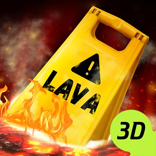 Lava Floor Challenge Jump Rope Escape Swing Game