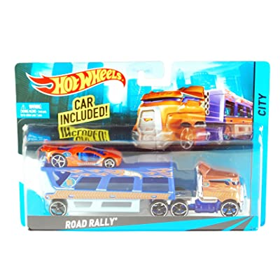 Hot Wheels City Road Rally Toy Car Set: Toys & Games [5Bkhe0307141]