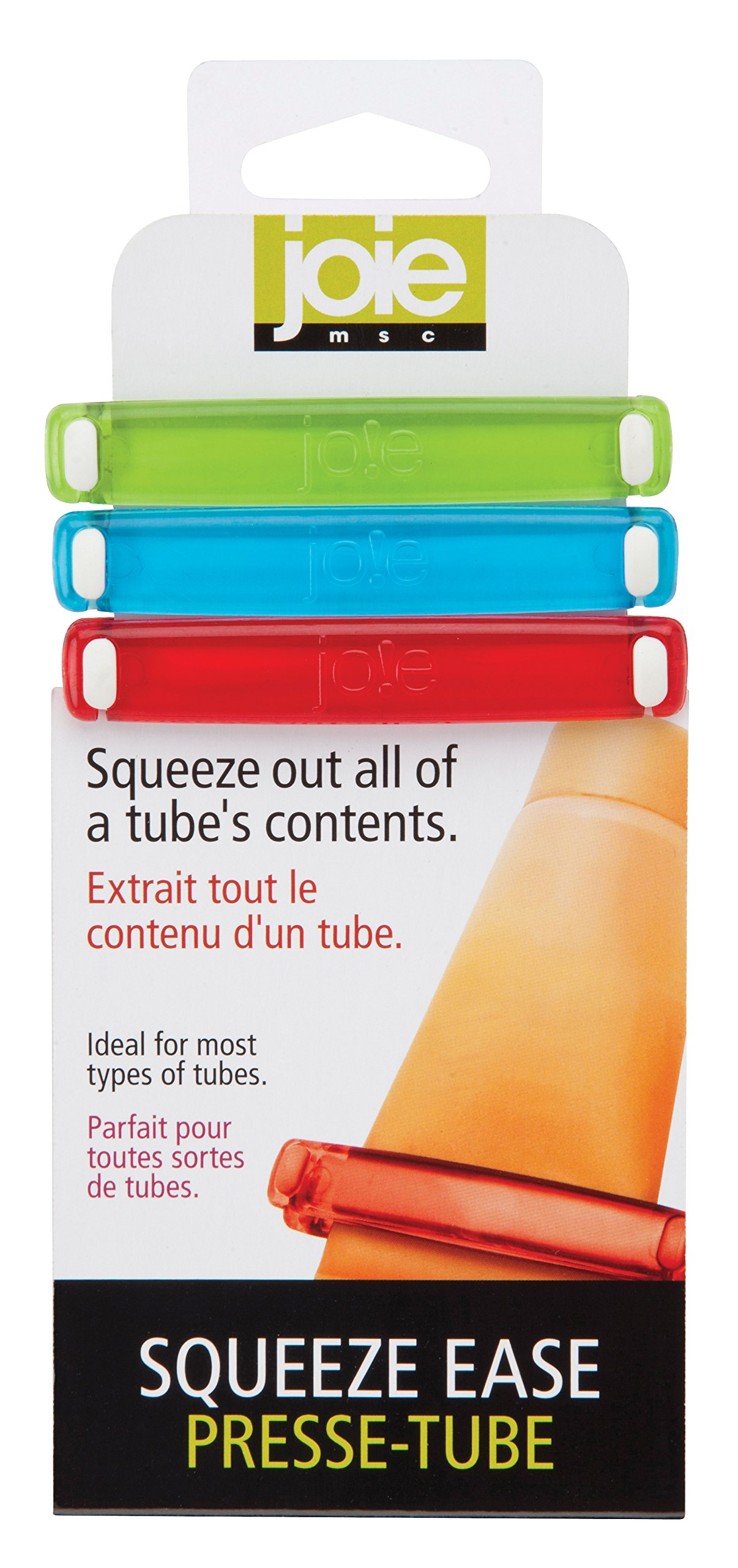 MSC Interational 22949 Joie Squeeze Ease Tube Squeezer, Set of 3