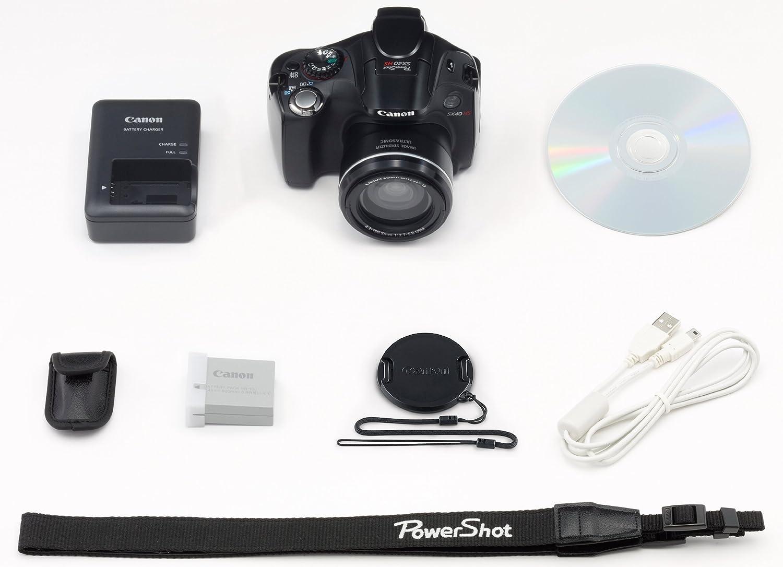 amazon com canon degital camera powershot sx40 hs pssx40hs