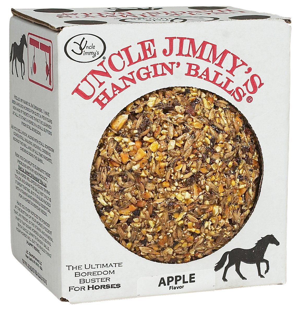 Uncle Jimmy's Hangin' Balls - 1.59kg - apple by William Hunter Equestrian (Image #1)