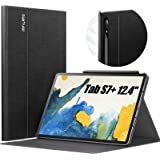 INFILAND Galaxy Tab S7+/ S7 Plus Case, Multiple Angle Stand Cover Compatible with Samsung Galaxy Tab S7+/ S7 Plus 12.4-inch S
