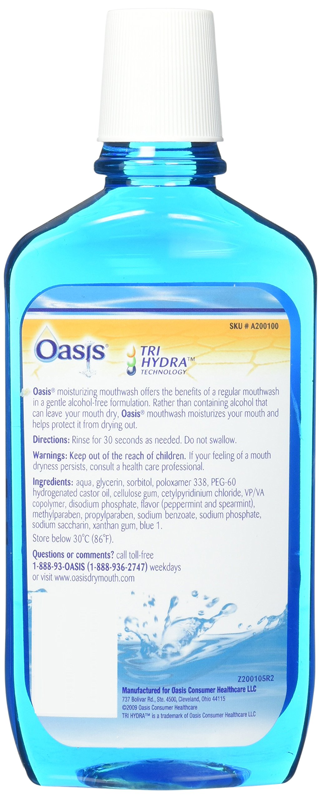 Oasis Mouthwash 16 oz. 6 Pack by Oasis (Image #3)