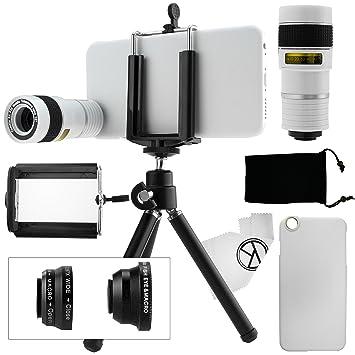 Juego de Lentes para Camara iPhone 6 / 6S, incluye Lente Telefoto 8x / Lente