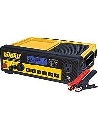 DEWALT DXAEC80 30 Amp Bench Battery Charger: 80 Amp Engine Start, 2 Amp Maintainer, 120V AC Outlet, 3.1A USB Port...