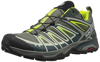 f88c448223d Salomon Men's X Ultra 3 GTX Trail Running Shoe, Castor Gray F025, 7 ...