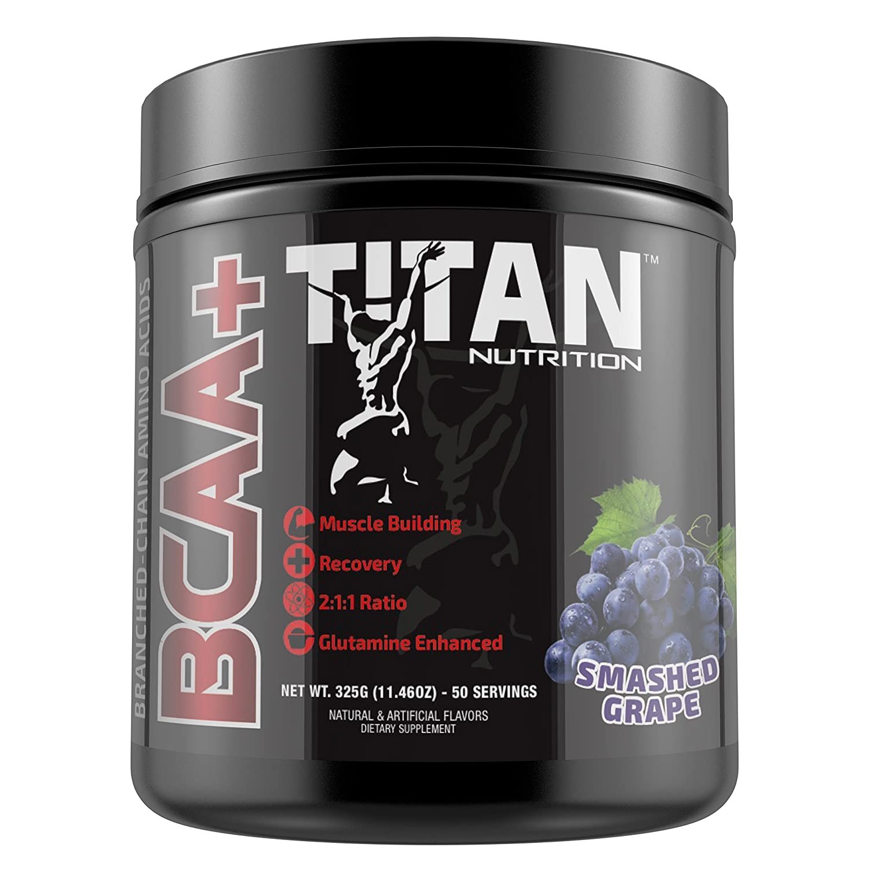 Amazon.com: TITAN BCAA+: Branched-Chain Amino Acids enhanced with ...