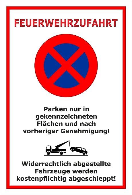 Melis Folienwerkstatt Cartel Prohibido - estacionas ...