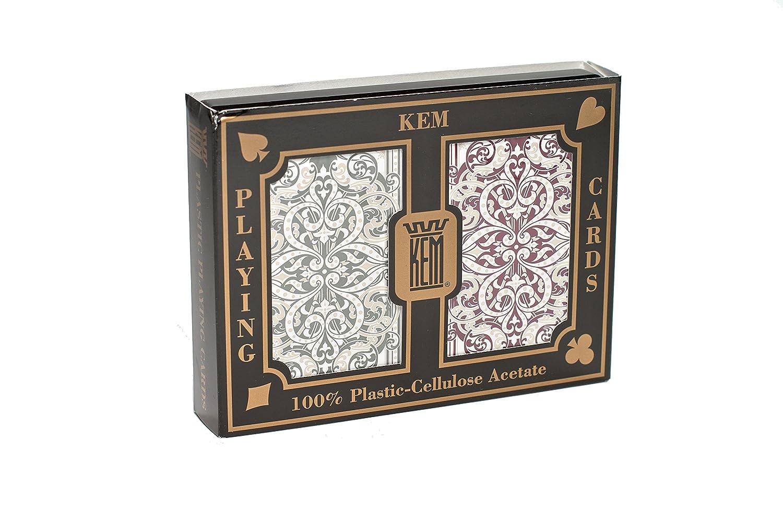 US Playing Card Company KEM - Pokerkarten Jacquard Narrow Standard Index