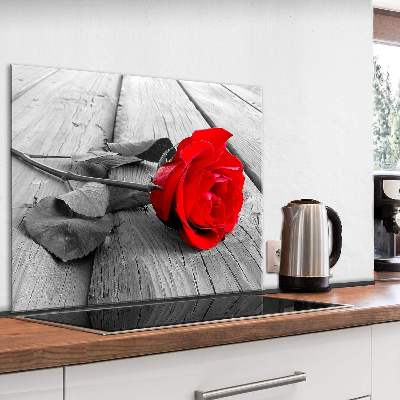 artgeist Tempered Glass Backsplash for Kitchen Splashback Printed Toughened Glass Cooker Protector Heat Resistant Decorative Wall Panel 80x60cm / 31.5 x 23.6