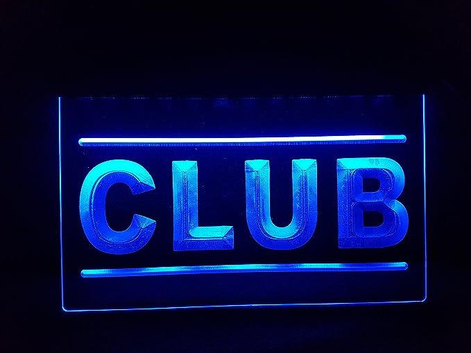 Club Bombilla LED Cartel Cartel Cargar Reklame Neon Cartel Disco Bar Pub