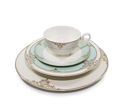 Royalty Porcelain \u0026quot;Gloria\u0026quot; 5-Piece White \u0026 Heaven Blue Dinnerware Set  sc 1 st  Amazon.com & Amazon.com | Royalty Porcelain "|425|381|?|a4168d74d8cf791a41ad600cad8e8d14|False|UNLIKELY|0.30722180008888245