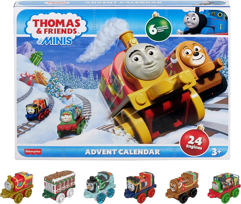 【Amazon.co.jp限定】トーマス(Thomas) ミニミニトーマス アドベントカレンダー 【3才~】【24種類の車両入り】