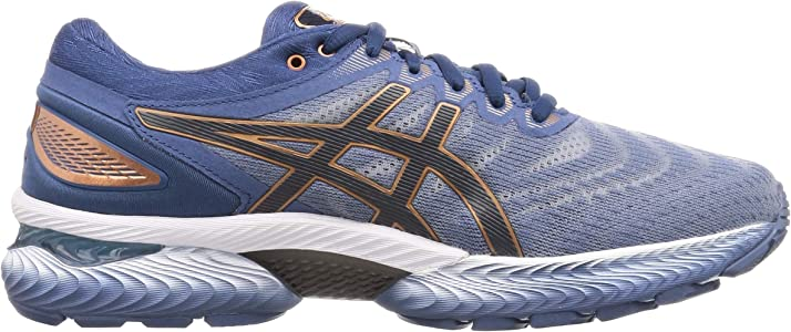 Asics Gel-Nimbus 22, Running Shoe Mens, Gris (Glacier Grey ...