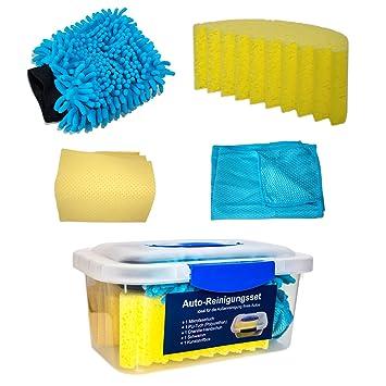 2f0a552ea3c9 Auto de Kit de limpieza, 5 piezas (Caja Incluye, chenilla esponja de ...