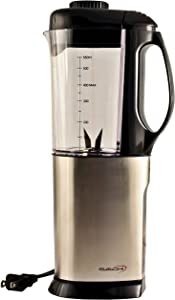 Saachi SA-1460 Stainless Steel Coffee Grinder / Wet & Dry Chutney Grinder with 1/2 Liter Blender Attachment