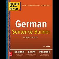 Practice Makes Perfect German Sentence Builder