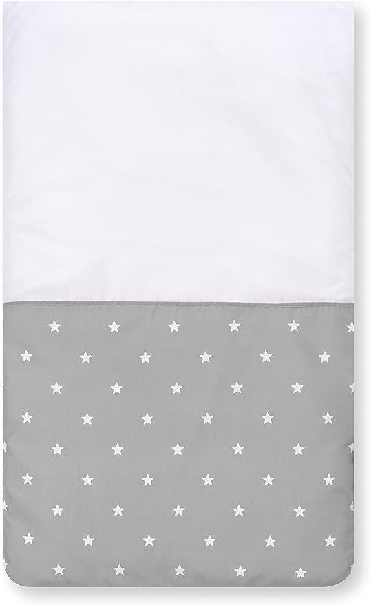 Pirulos 83300520 Colcha con relleno minicuna stars, color