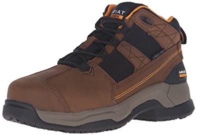 Ariat Women's Contender Steel Toe Work Boot, Brown, ...