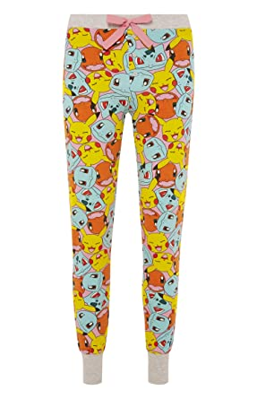 7bc1c6fad0db6 Pokemon Ladies Girls Womens Top Shorts Bottoms Pajamas Pyjamas PJ Set UK  S-XL (Bottoms