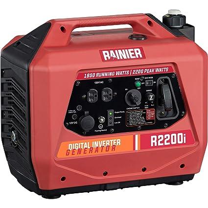 Amazon.com: Generador portátil Rainier con arranque ...