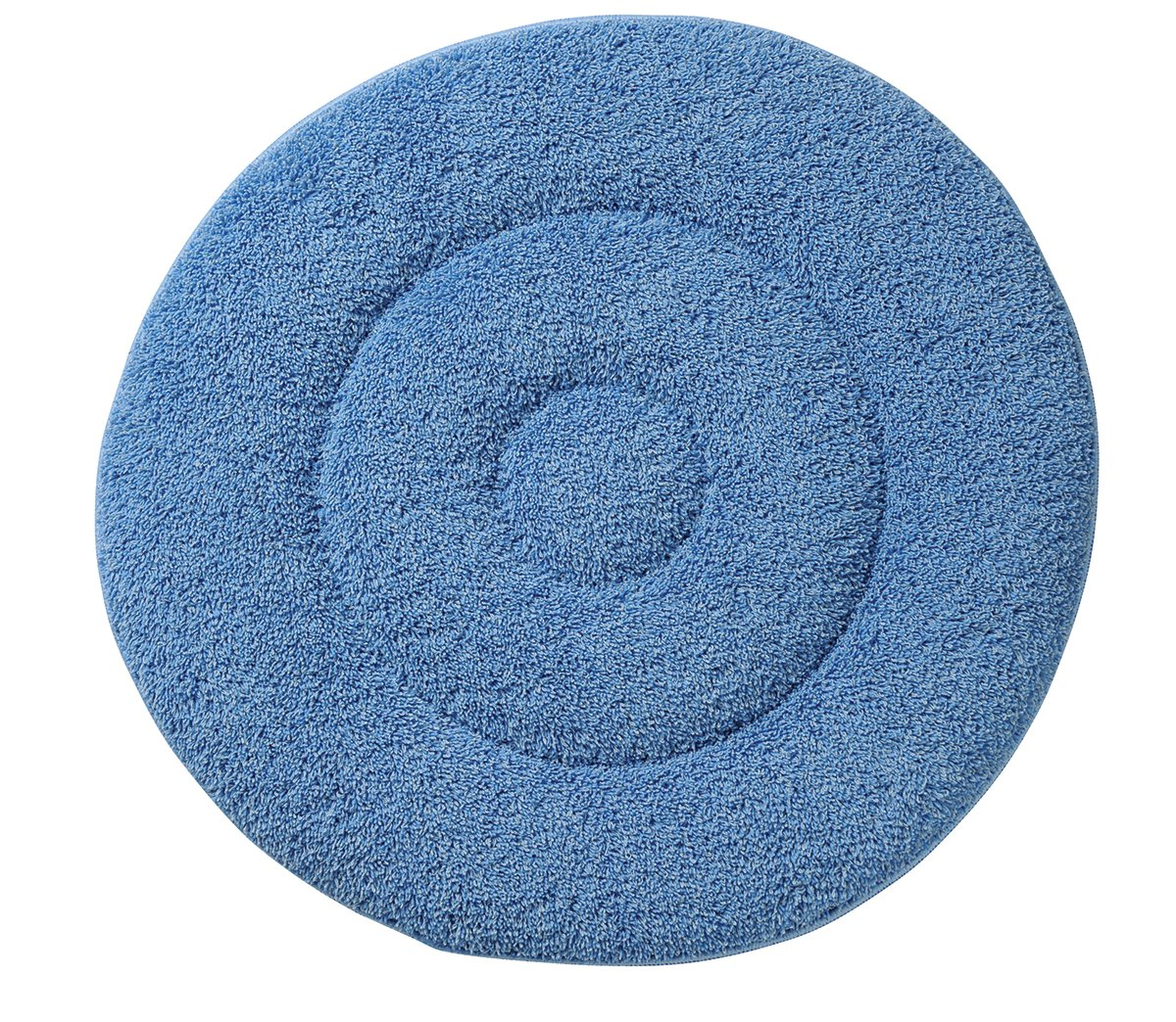 Glit/Microtron 404779 Microfiber Carpet Cleaning Bonnet Pad, 19'', Blue (Pack of 2) by Glit / Microtron
