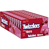 TWIZZLERS Licorice Candy, Cherry, Bites (Pack of 12)