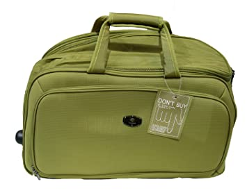 7424feebaab0 Polo House USA 2-Wheel Luggage Duffle Bag