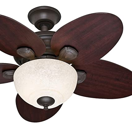 Hunter fan 34 small room ceiling fan in new bronze with amber scavo hunter fan 34quot small room ceiling fan in new bronze with amber scavo glass light mozeypictures Choice Image