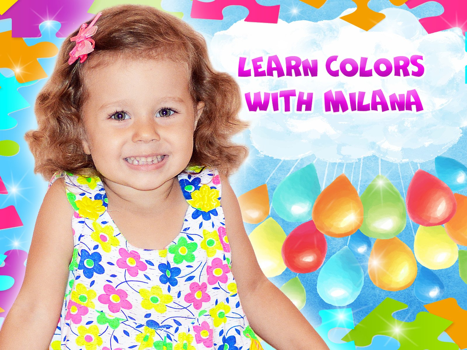 Learn Colors with Milana on Amazon Prime Video UK