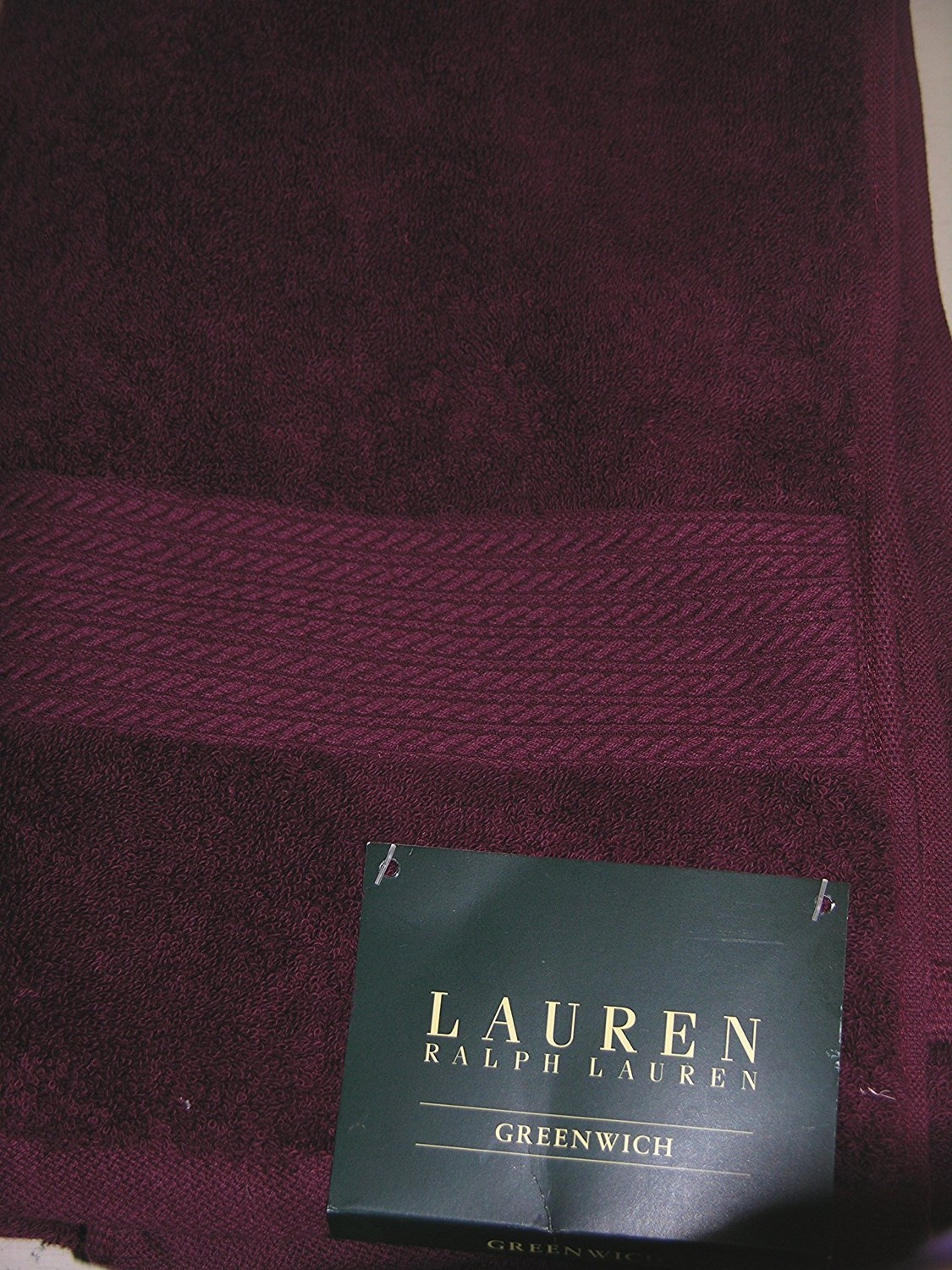 Ralph Lauren Greenwich 6 Piece Towel Set Garnet Red by Polo Ralph Lauren Home Collection Showroom LLC