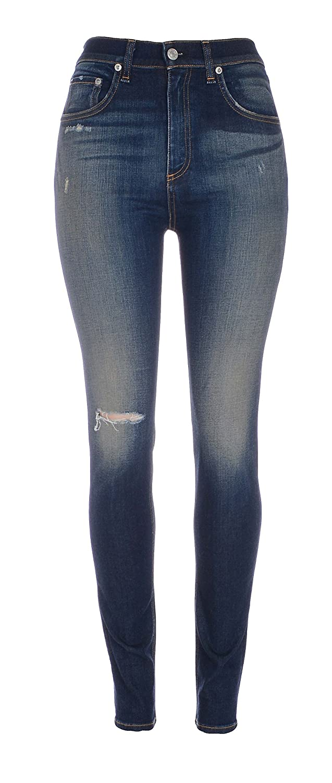 Rag & Bone Womens High Waist Justine Skinny Jeans Size 29 in Mateos